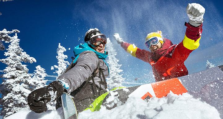 janvier ski