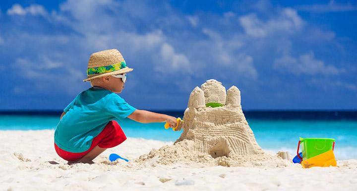 Vivement les châteaux de sables