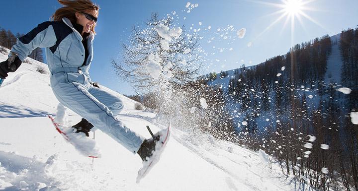 font romeu ski de fond ou raquettes
