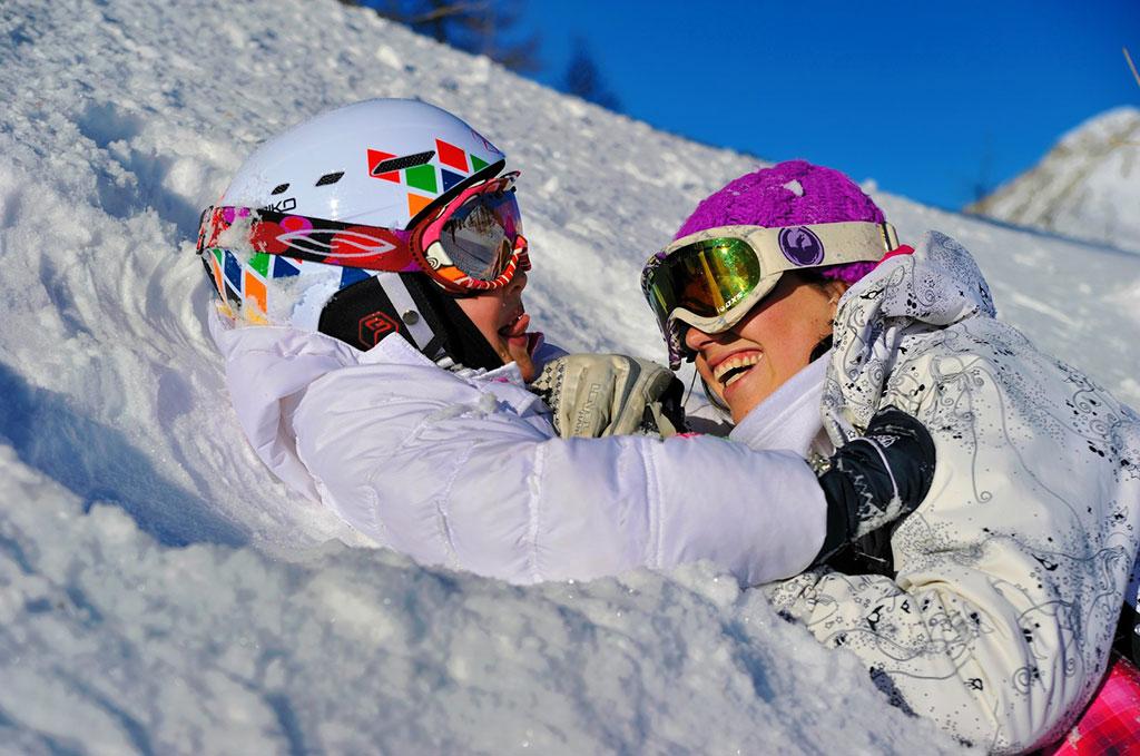 La neige aux Grandes Feignes @credit photos Luca Orlandini