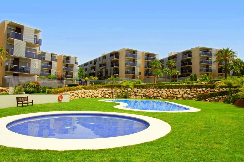 Résidence Paradise village à Salou sur la Costa Dorada avec piscine