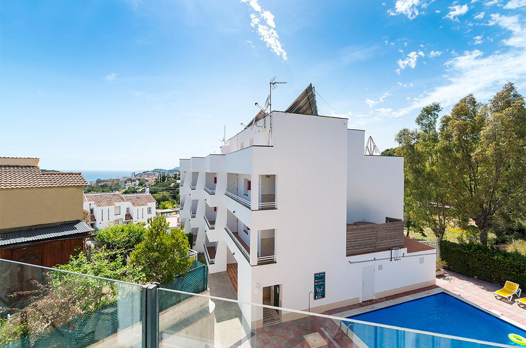 exemple d'intérieur de la résidence de vacances El llorers sur la Costa Brava