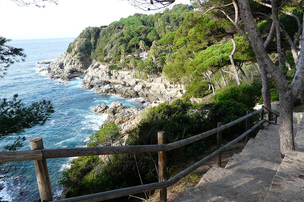 En Espagne, le chemin des douaniers de Lloret de Mar