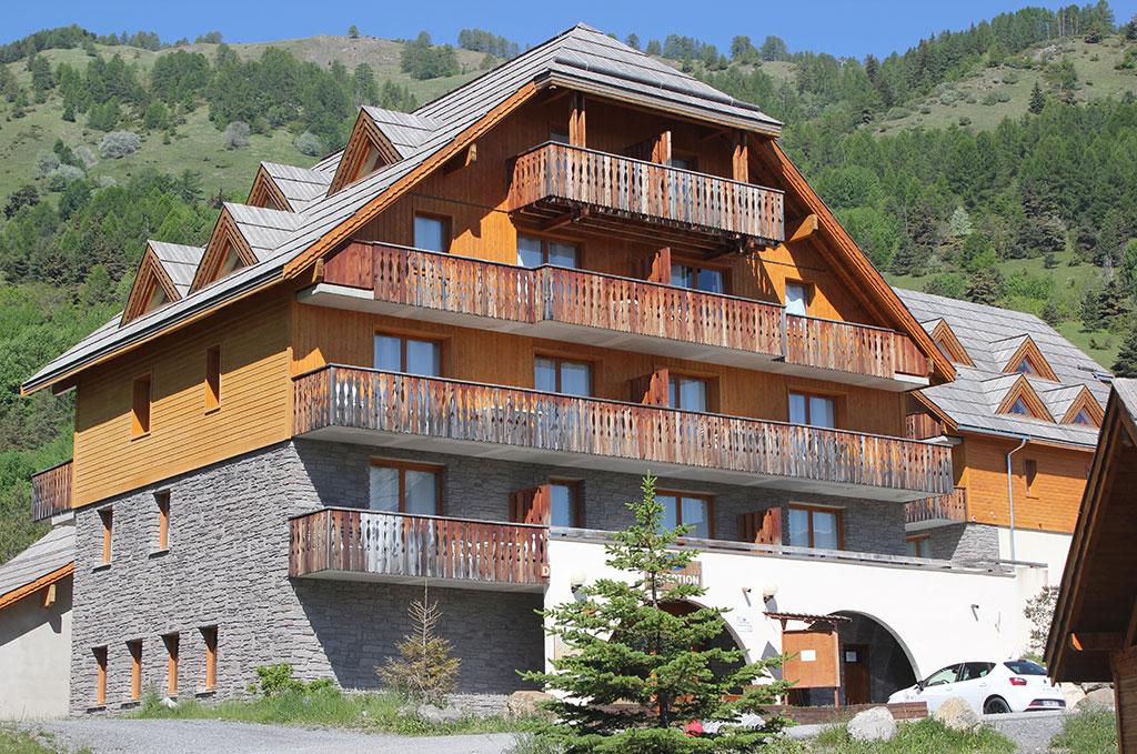 la résidence de vacances Les Chalets de Praroustan à Pra-Loup