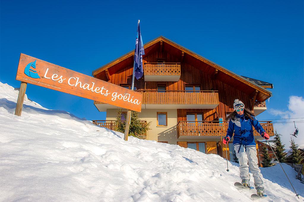 Résidence de vacances Goélia Les Chalets Goélia dans les Alpes du Nord à la Toussuire