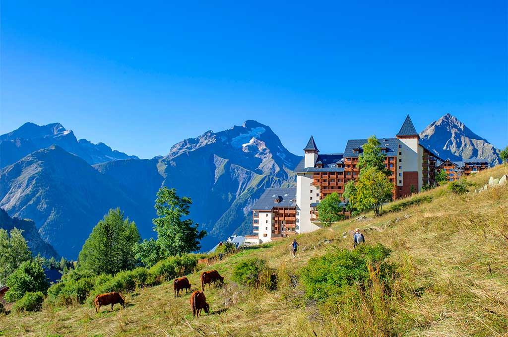 Résidence Goélia Les Balcons du Soleil aux Deux Alpes