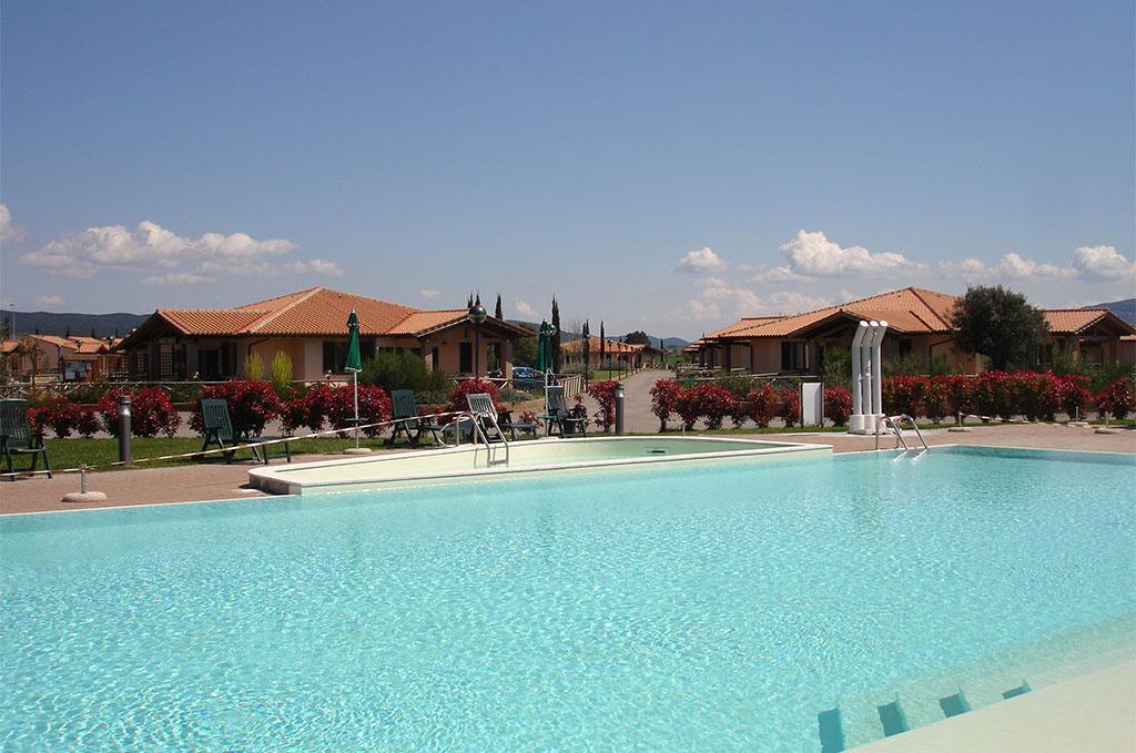 Piscine de la résidence de vacances Casa in Maremma à Scarlino