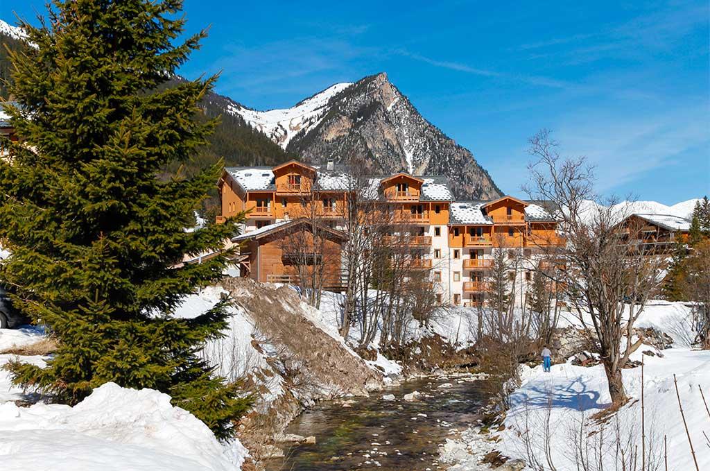 Résidence de vacances Goélia Le Blanchot à Pralognan la Vanoise