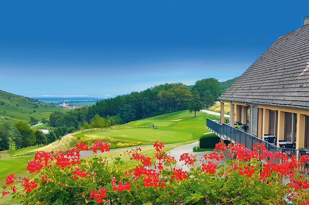 Goélia Le Domaine du Golf holiday residence in Ammerschwihr directly on the golf course