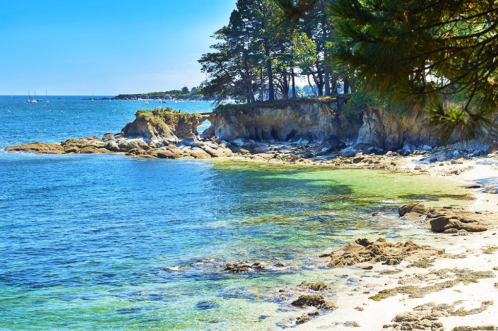 La plage de Fouesnant