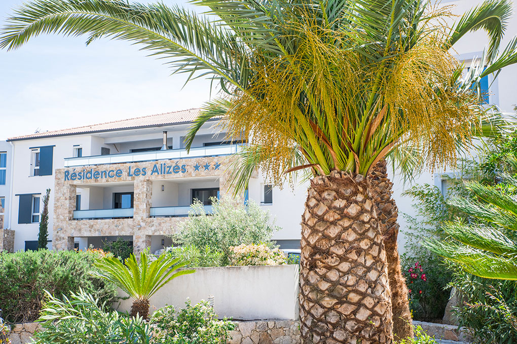 Résidence de vacances Les Alizés à Monticello en Corse à proximité de l'Île Rousse