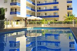 La piscine de la residence Goelia sun cit