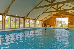 la piscine de la résidence Goelia