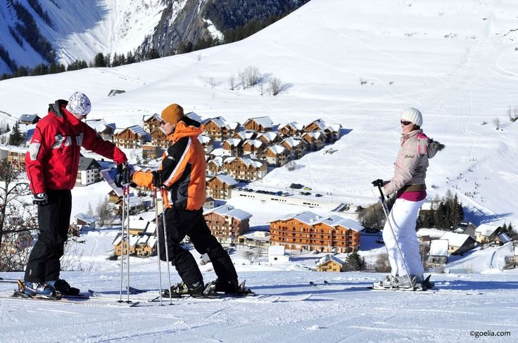 Near the ski slopes, explore Le Relais des Pistes Goélia holiday complex in Albiez Montrond