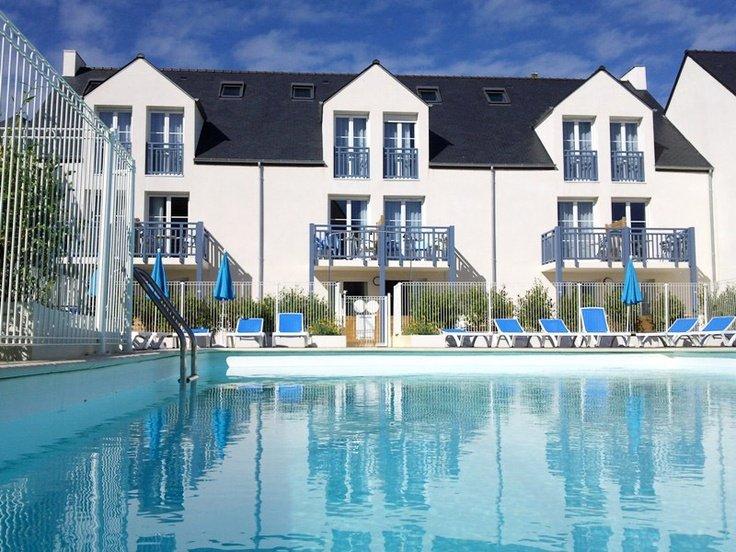 La résidence de vacances Goelia An Douar à Audierne en Bretagne