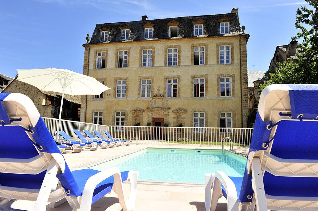 Résidence de vacances Goélia Le Château Ricard à Saint Geniez d'Olt.