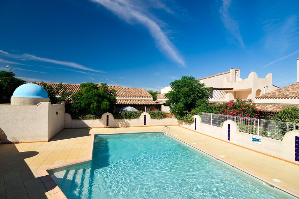 Piscine de la résidence Samaria Village au Cap d'Agde