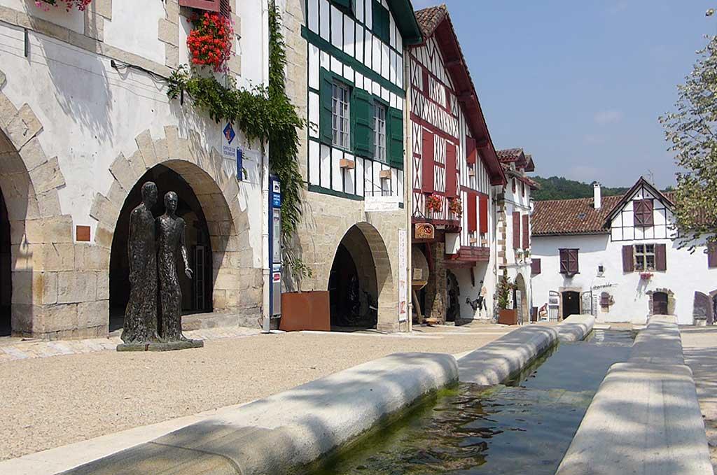 Le village de La Bastide Clairence