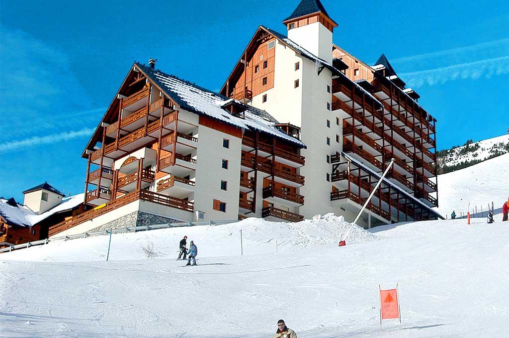Les 2 Alpes, résidences de vacances Goelia Les Balcons du Soleil (Flocon d'or et Prince des Ecrins)